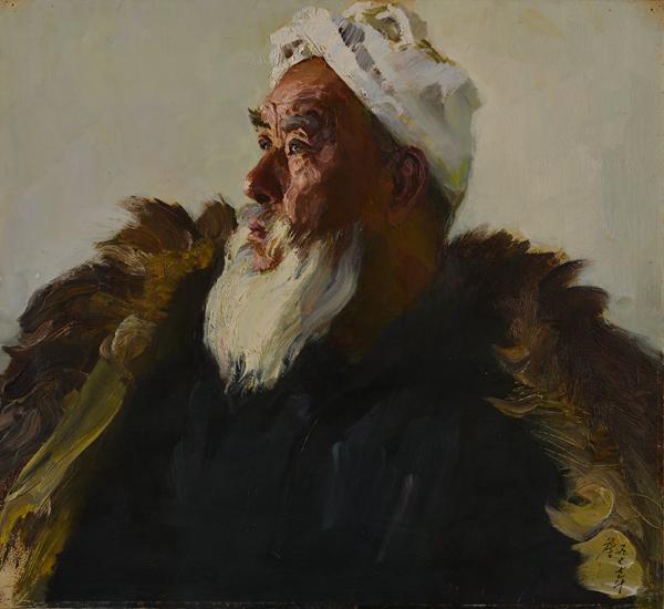 作为中国第三代油画家的代表人物