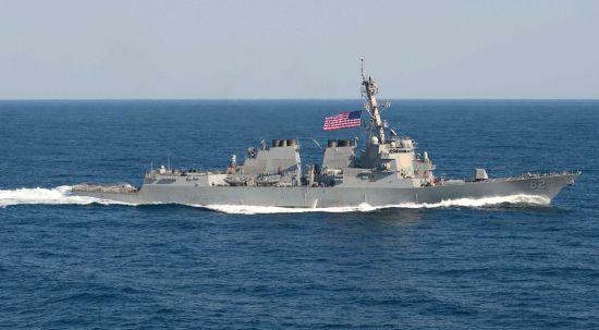 国防部回应中国军舰进美国领海:享有过境通行权