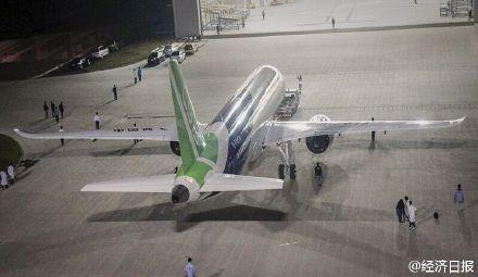 国产大飞机c919今日总装下线