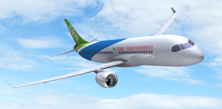 国产大飞机c919今日总装下线 受益公司一览