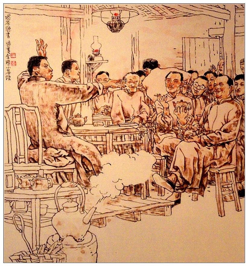 """《山乡巨变》人未变 《走街串巷忆旧情》   ——上海连环画大师贺友直的故事   中国证券网(记者 李虎) 在中国上了点年纪的人,如果谈起《山乡巨变》,恐怕无人不知。在剑桥艺术史上,这样记录着它,""""被认为是中国连环画史上里程碑式的杰作"""",这就是贺友直的作品。    丙申春节期间,《走街串巷忆旧事——贺友直艺术展》正在浙江美术馆展出,三个展厅,展出近年来贺友直的代表作手稿。其实在去年,贺友直已经将这套《走街串巷忆旧事》原作(共54件)"""